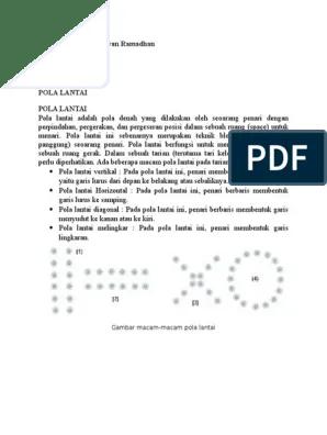 Pola Lantai Tari Payung : lantai, payung, LANTAI.doc