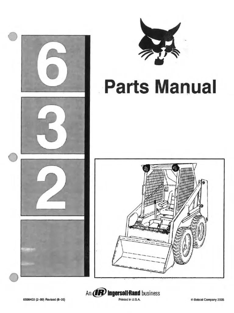 hight resolution of bobcat 632 part diagram