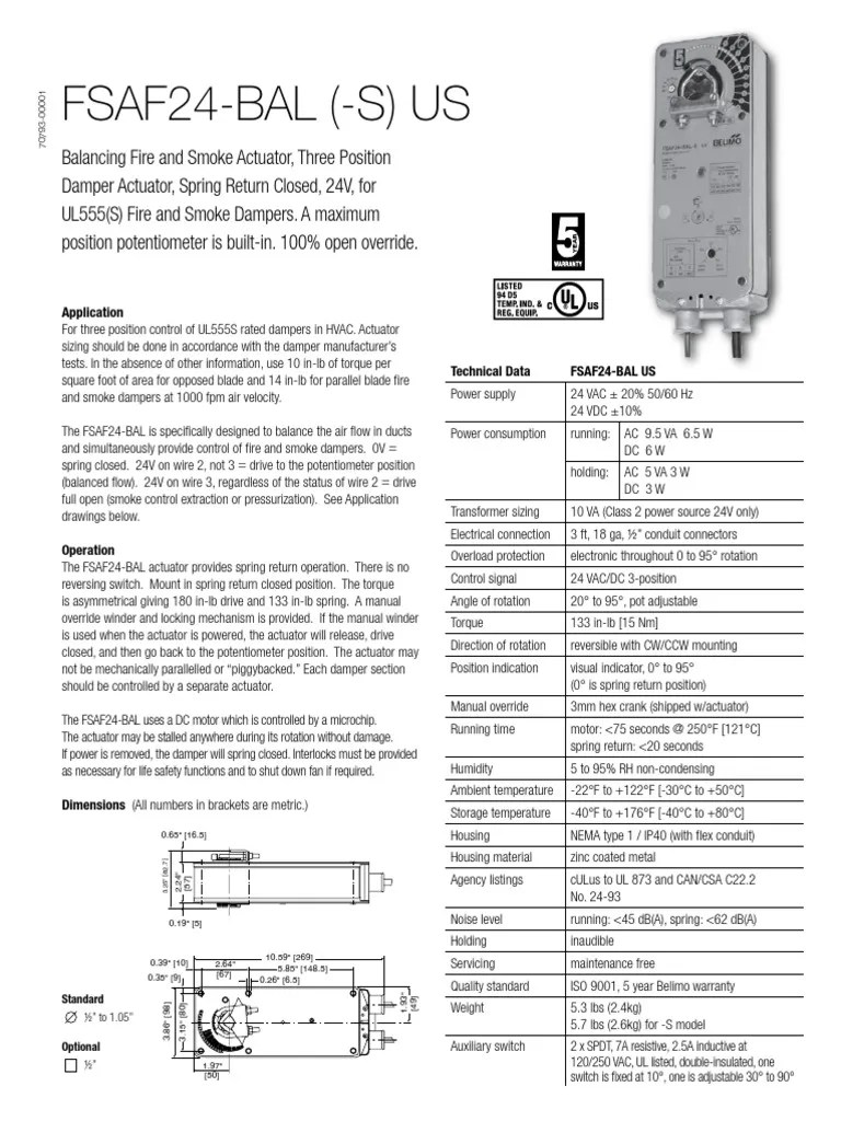 tri state belimo actuator wiring [ 768 x 1024 Pixel ]