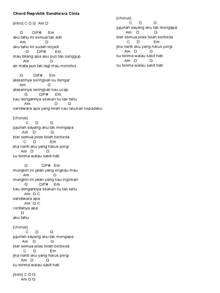 Kunci Gitar Lagu Sandiwara Cinta : kunci, gitar, sandiwara, cinta, Download, Lirik, Republik, Sandiwara, Cinta