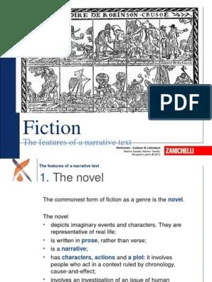Narrative Text Ppt : narrative, Fiction, Features, Narrative, Narration
