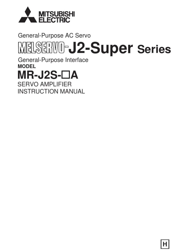mr j2s a instruction manual electrical connector electromagnetic compatibility [ 768 x 1024 Pixel ]