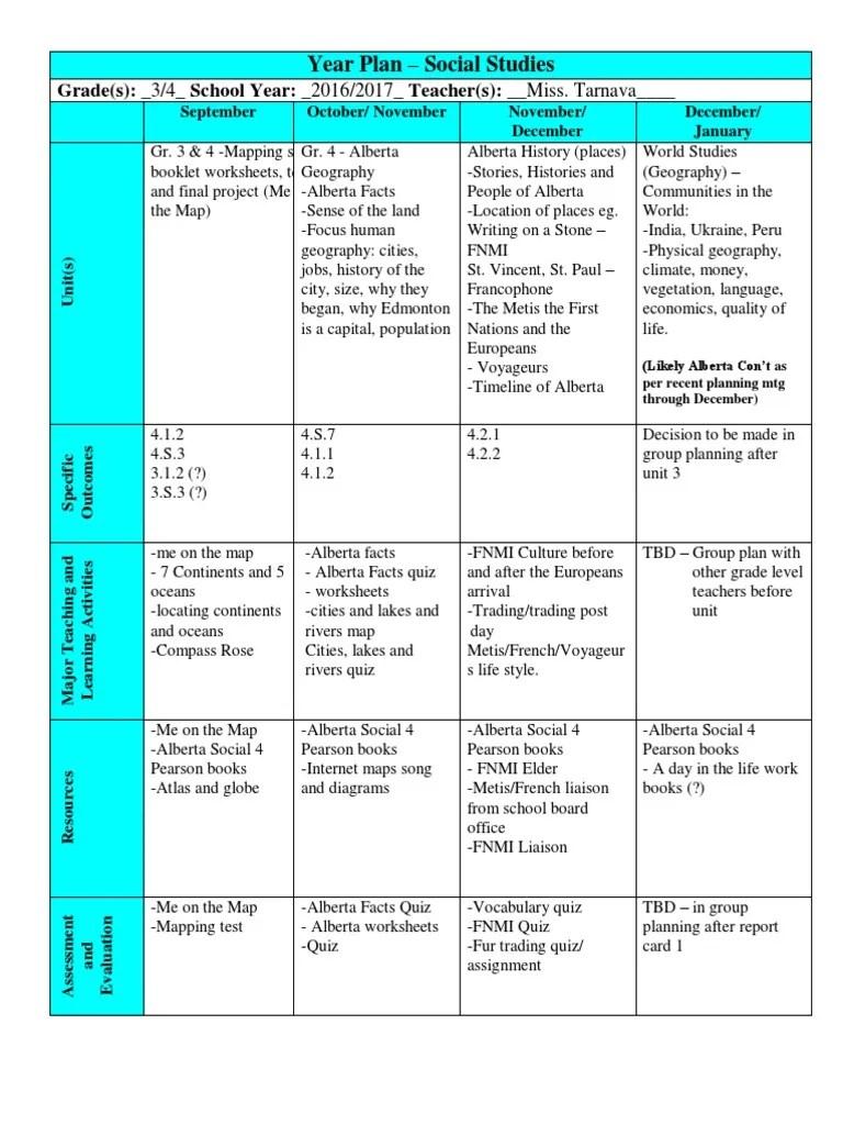 hight resolution of year plan social studies