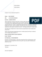 Contoh Surat Permohonan Pengembalian Kelebihan Transfer : contoh, surat, permohonan, pengembalian, kelebihan, transfer, Contoh, Surat, Pernyataan, Refund