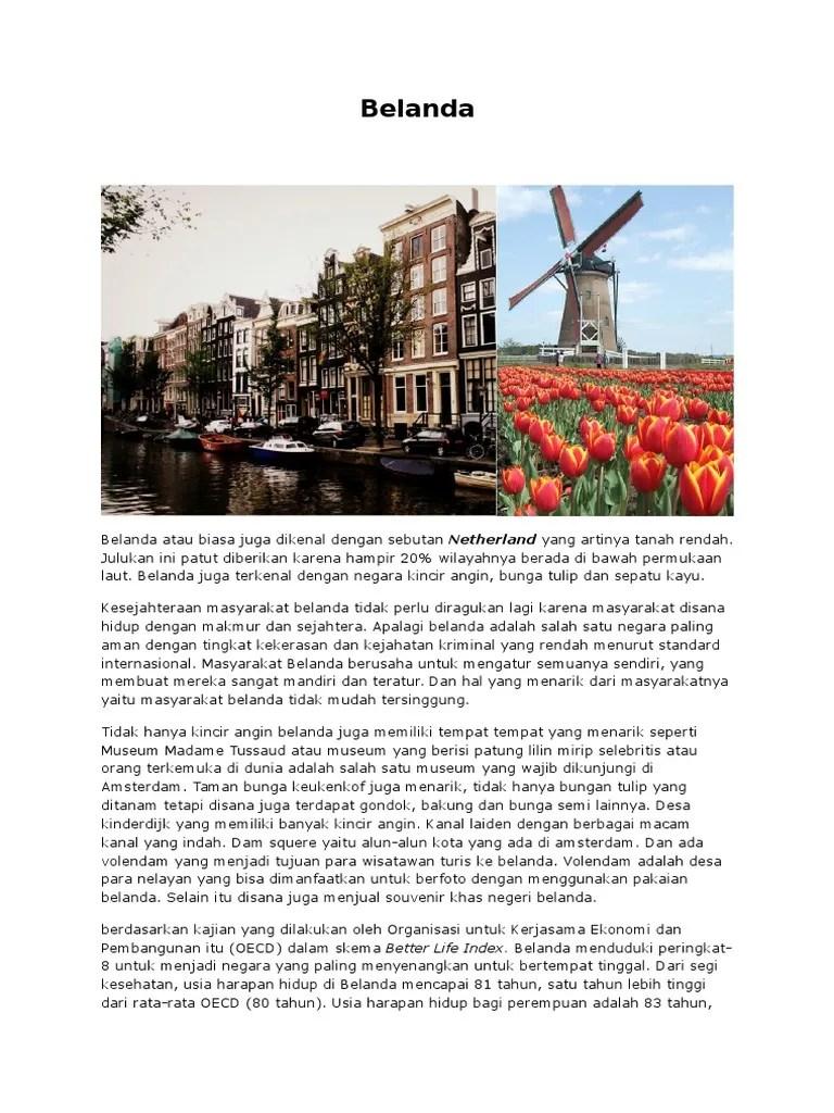 Mengapa Belanda Disebut Negara Kincir Angin : mengapa, belanda, disebut, negara, kincir, angin, Belanda
