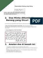 Doa Pencuri Pulangkan Basikal - melayu-blog.onrender.com