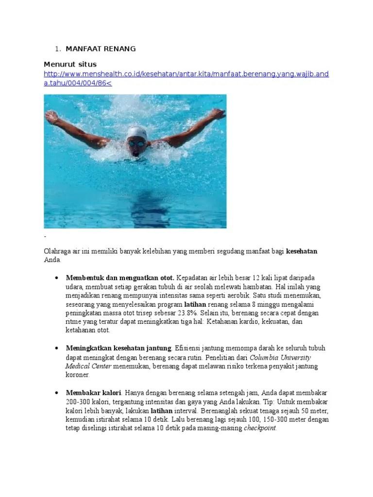 Apa Manfaat Pemanasan Sebelum Berenang : manfaat, pemanasan, sebelum, berenang, MANFAAT, RENANG