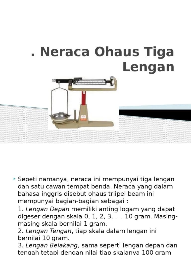 Neraca Ohaus 3 Lengan : neraca, ohaus, lengan, Neraca, Ohaus, Lengan