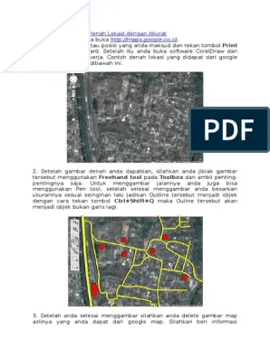 Membuat Denah Lokasi Dengan Google Maps : membuat, denah, lokasi, dengan, google, Membuat, Denah, Lokasi, Dengan, Akurat