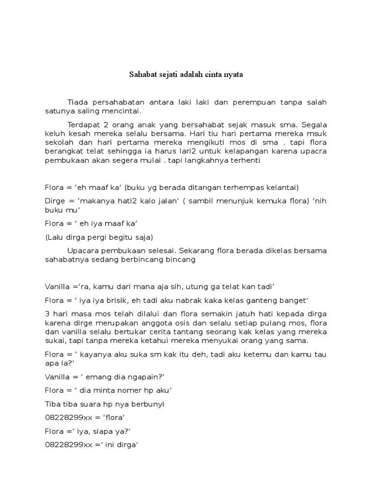 Naskah Drama Persahabatan 4 Orang : naskah, drama, persahabatan, orang, Drama, Untuk, Orang, Persahabatan, Cinta