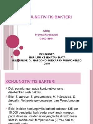 Konjungtivitis Bakteri Pdf : konjungtivitis, bakteri, PROVITA, Konjungtivitis, Bakteri