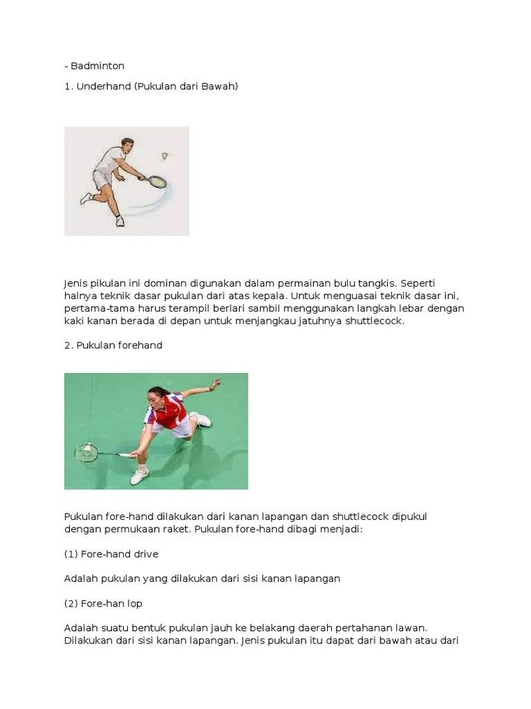 Apa Yang Dimaksud Pukulan Forehand : dimaksud, pukulan, forehand, Badminton