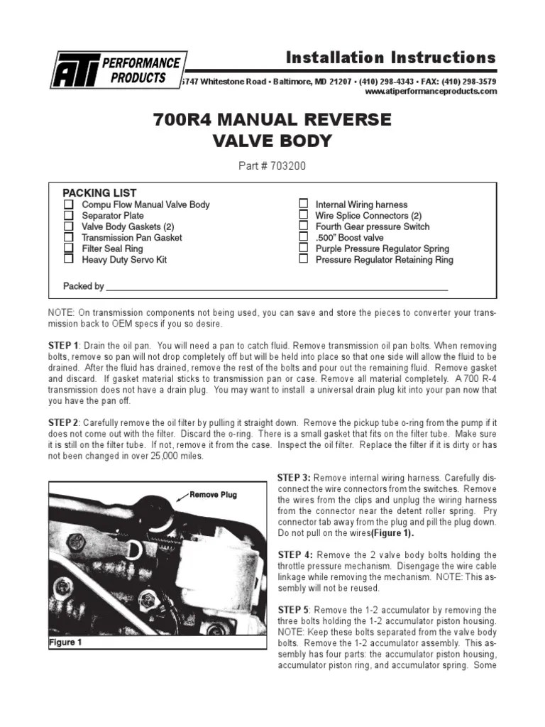 medium resolution of 703200 search manual online com pdf valve electrical connector rh scribd com e40d transmission wiring harness transmission wiring harness cannon plugs