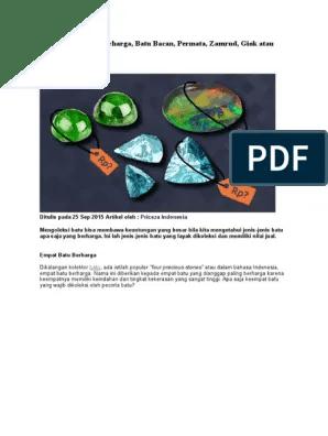Jenis Batu Akik Berharga Tinggi Disebut Juga Sebagai Black Opal : jenis, berharga, tinggi, disebut, sebagai, black, Lebih, Berharga, Bacan,, Permata,, Zamrud,