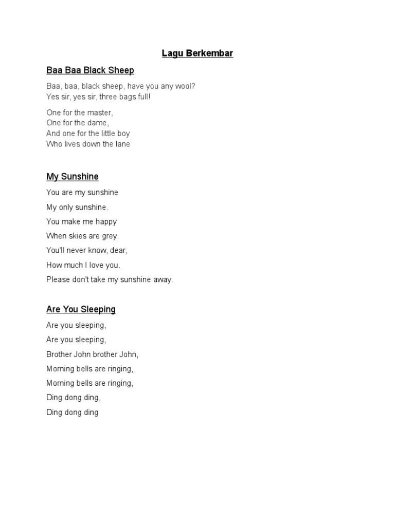 Lirik Lagu Lavender's Blue : lirik, lavender's, Lirik, Bengkel, Vokal