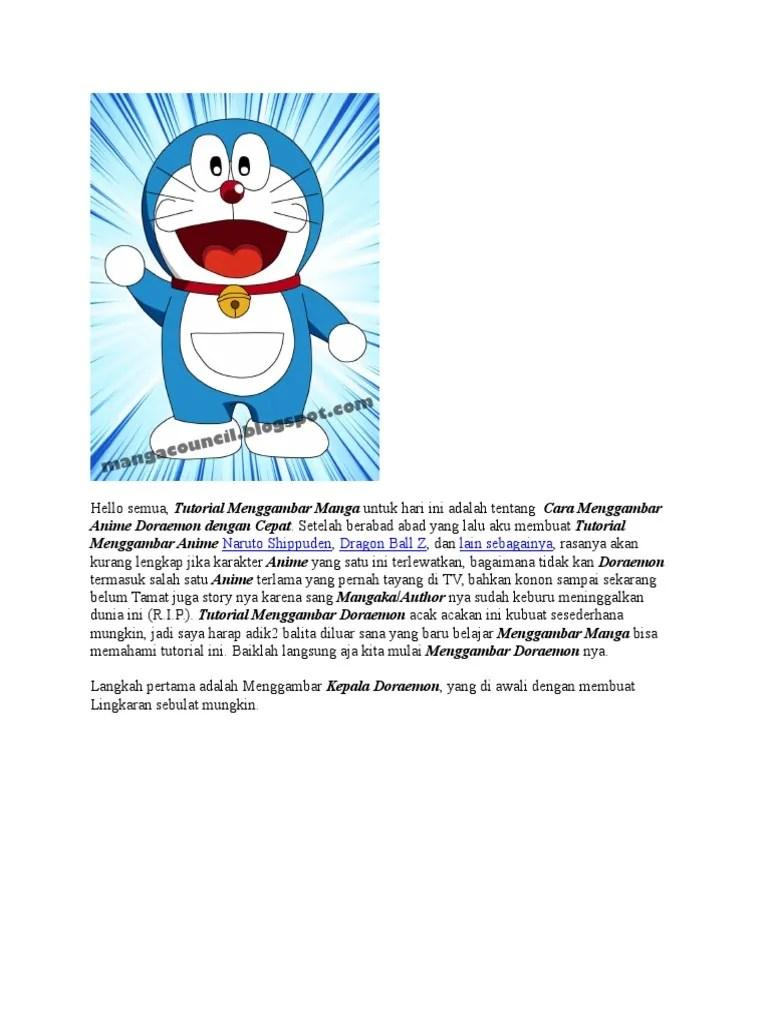 Permainan Doraemon Memasak : permainan, doraemon, memasak, Inspirasi, Sketsa, Gambar, Doraemon, Berwarna