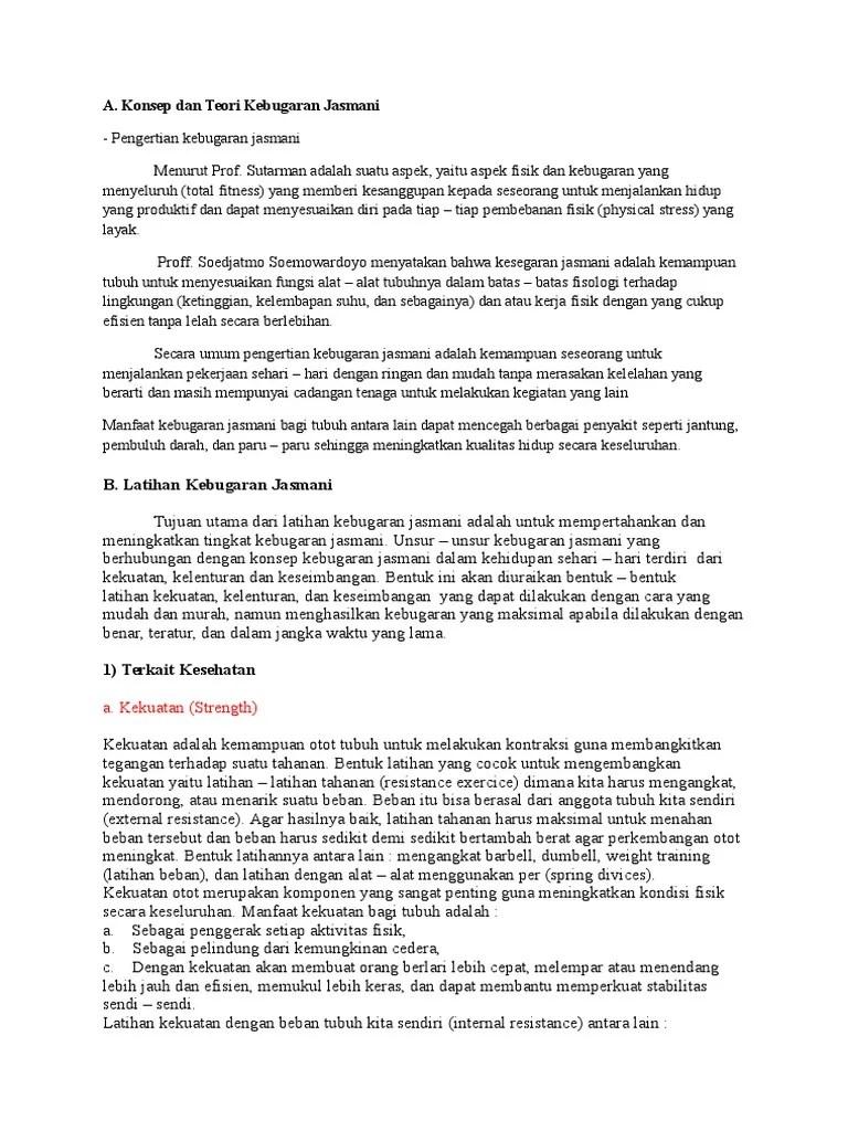 Tujuan Kebugaran Jasmani : tujuan, kebugaran, jasmani, Kebugaran, Jasmani
