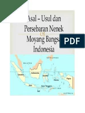 Peta Persebaran Nenek Moyang Bangsa Indonesia : persebaran, nenek, moyang, bangsa, indonesia, Nenek, Moyang