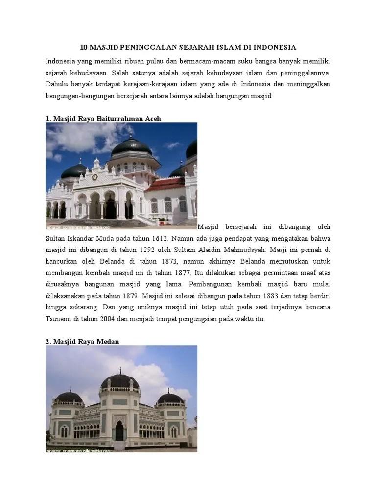 Contoh Peninggalan Kerajaan Islam : contoh, peninggalan, kerajaan, islam, Contoh, Peninggalan, Kerajaan, Islam, Aneka, Cute766