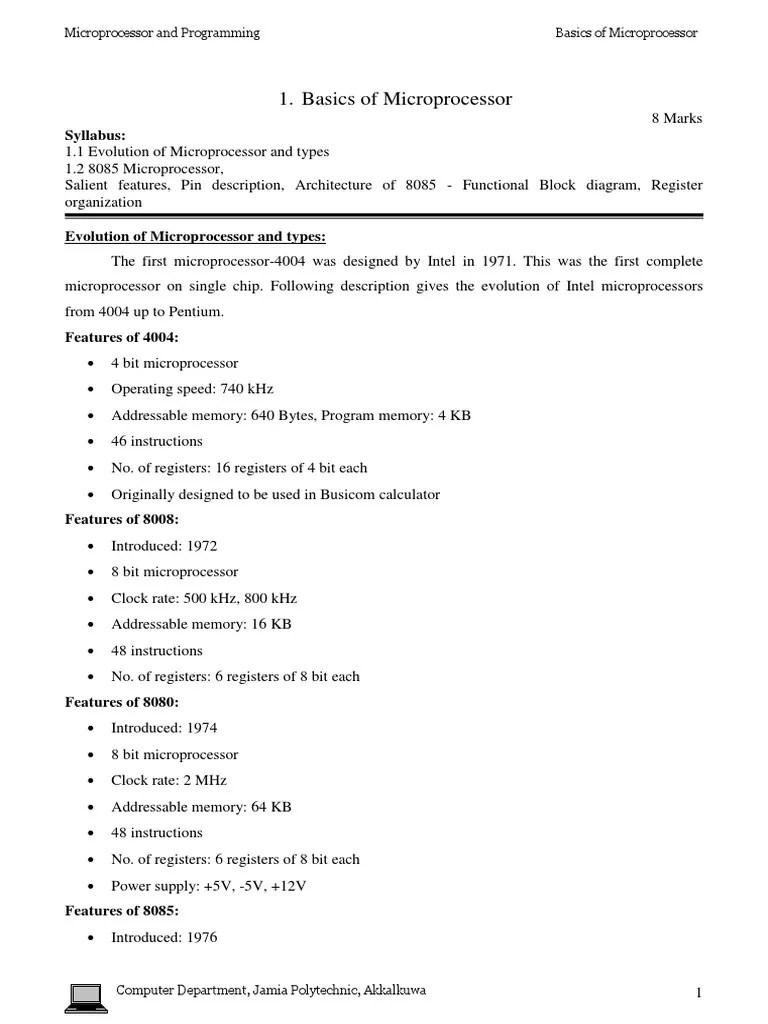 medium resolution of block diagram 8085 microprocessor for polytechnic