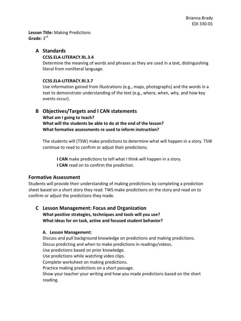 medium resolution of making predictions   Educational Assessment   Pedagogy