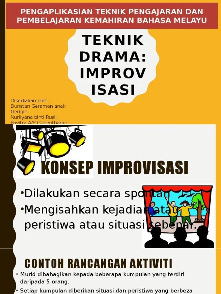 Contoh Improvisasi : contoh, improvisasi, Improvisasi.pptx