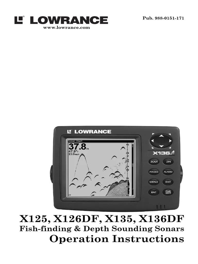 medium resolution of lowrance x135manual sonar fiberglass lowrance nmea 2000 network lowrance x135 power cable wiring diagram