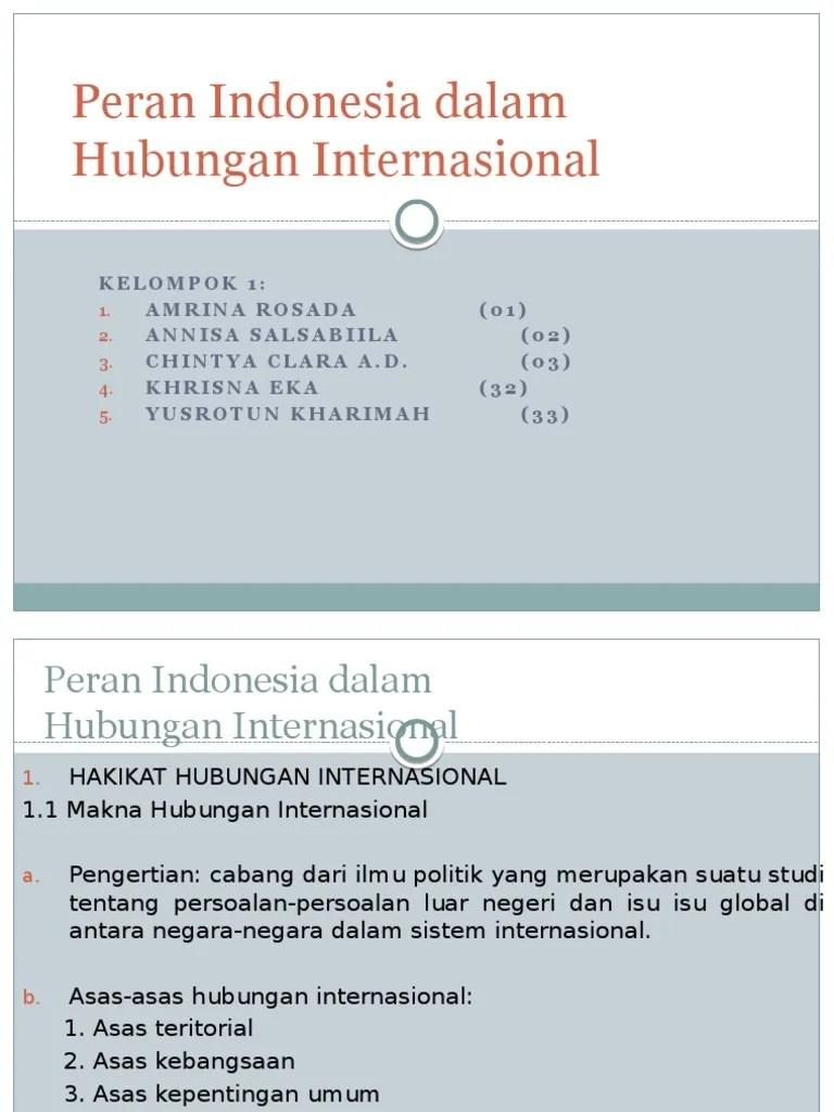 Asas Asas Hubungan Internasional : hubungan, internasional, Kelompok