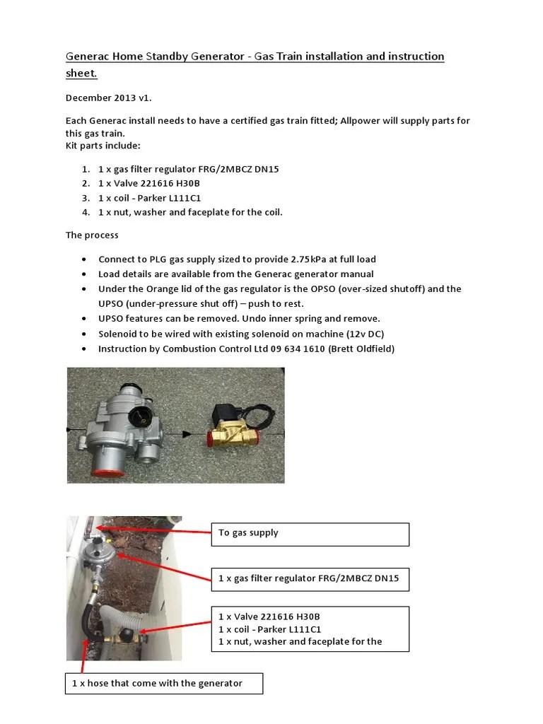 small resolution of generac standby generator installation guide