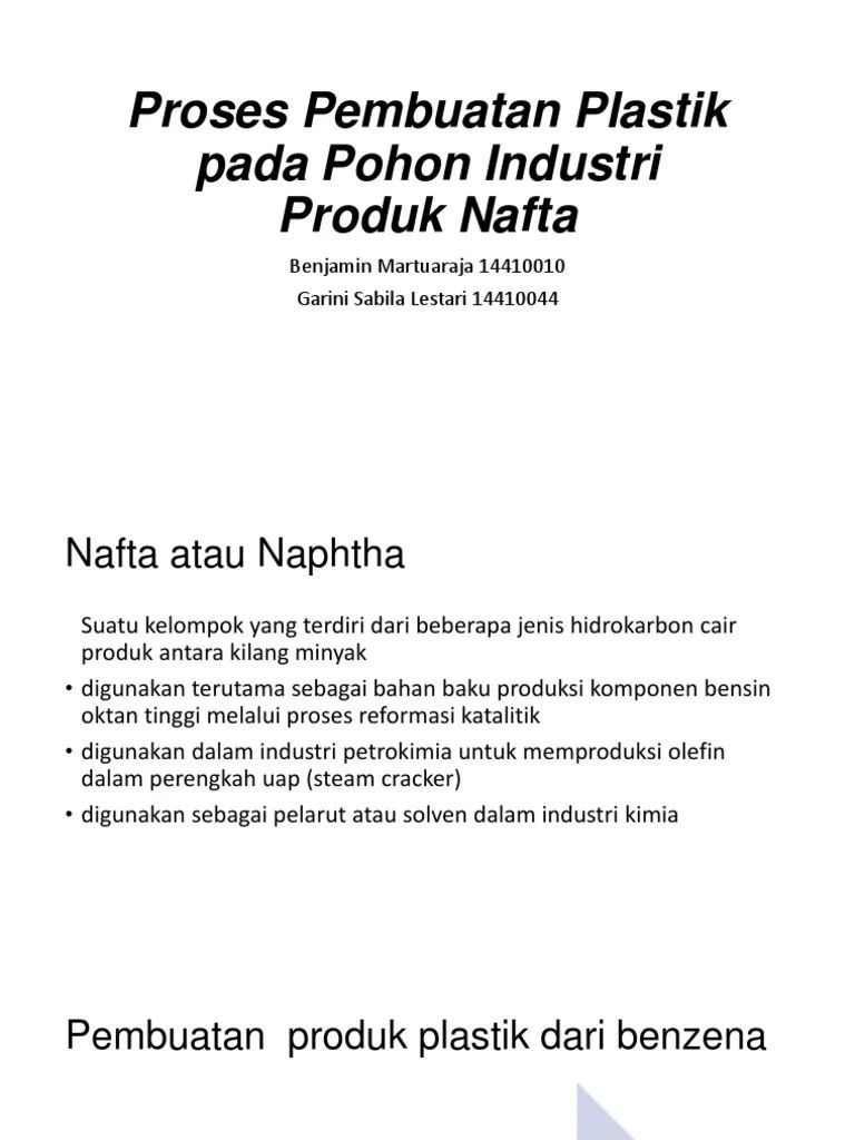 Bahan Pembuatan Plastik : bahan, pembuatan, plastik, Proses, Pembuatan, Plastik, Zonefasr