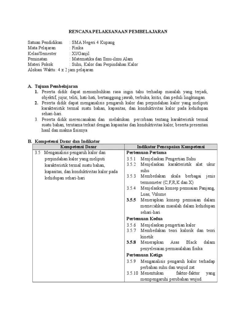 Materi Suhu Dan Kalor Kelas 11 Kurikulum 2013 : materi, kalor, kelas, kurikulum, Kalor