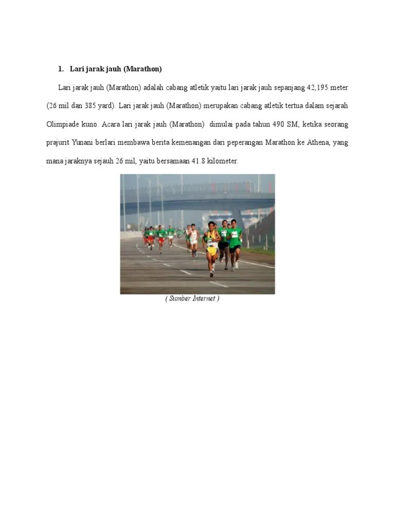 Artikel Atletik Lari : artikel, atletik, Artikel