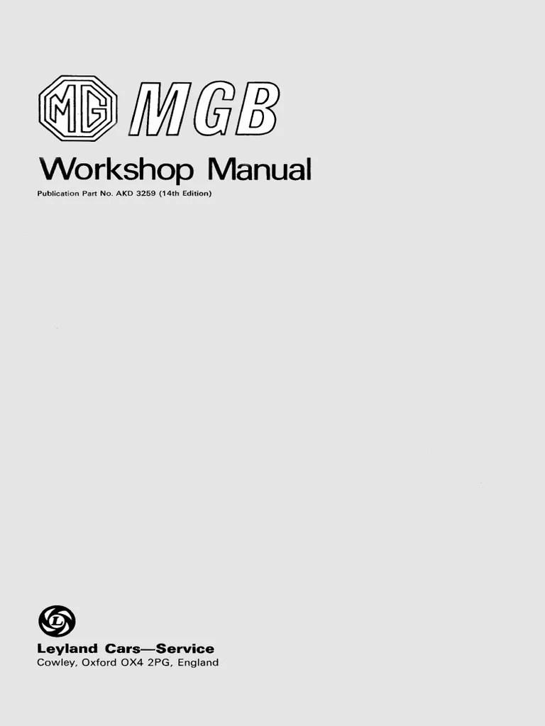 medium resolution of mgb workshop manual ocr index manual transmission transmission mechanics