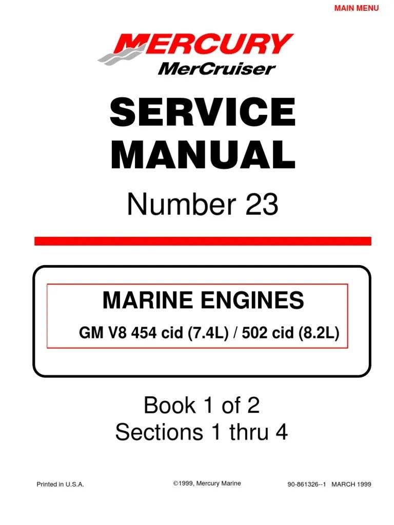 merc service manual 23 454 502 engines internal combustion engine propeller [ 768 x 1024 Pixel ]