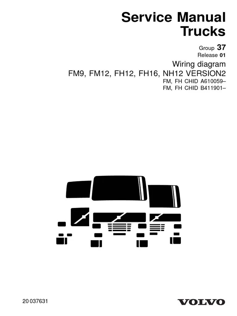 hight resolution of volvo fh12 wiring diagram free download