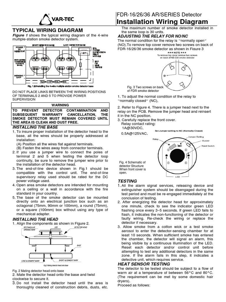 smoke detector wiring diagram for 4 [ 768 x 1024 Pixel ]