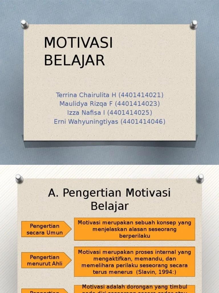 Ppt Motivasi Belajar Siswa : motivasi, belajar, siswa, Motivasi, Belajar, New.pptx