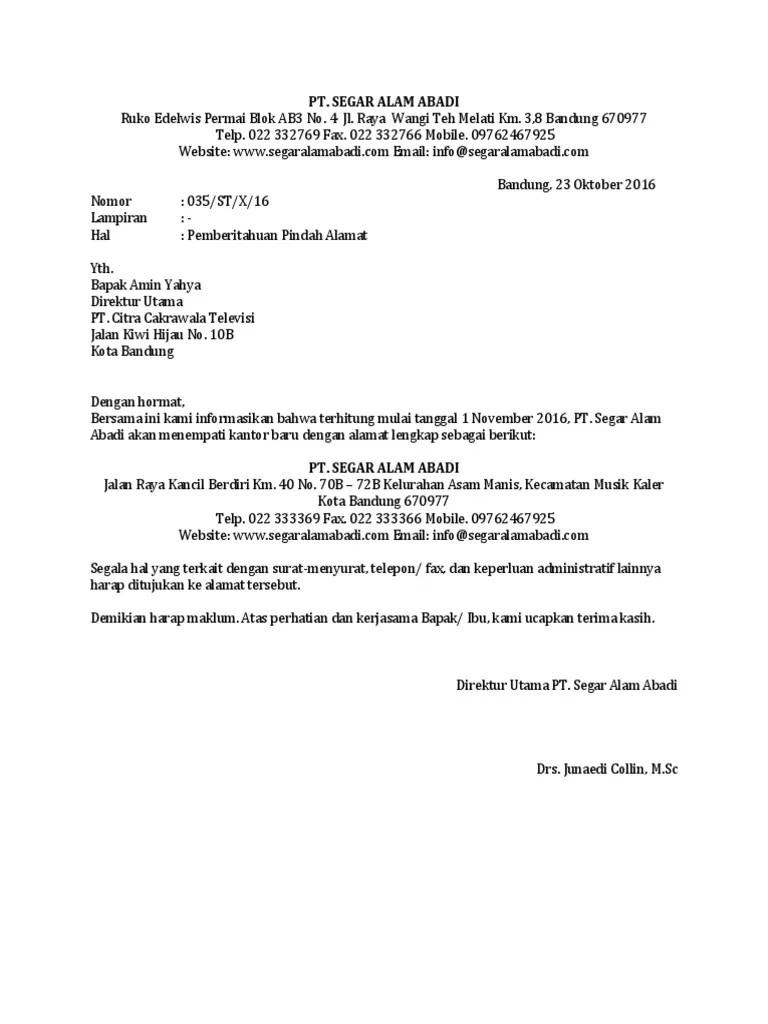 Surat Pernyataan Pindah Alamat : surat, pernyataan, pindah, alamat, Contoh-Surat-Pemberitahuan-Pindah-Alamat-Kantor-yang-Masih-Dalam-Kota.docx