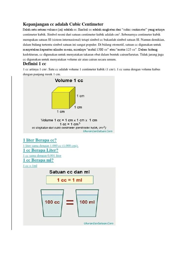 1 Liter Berapa Kilogram : liter, berapa, kilogram, Volume,, Liter, Kilogram