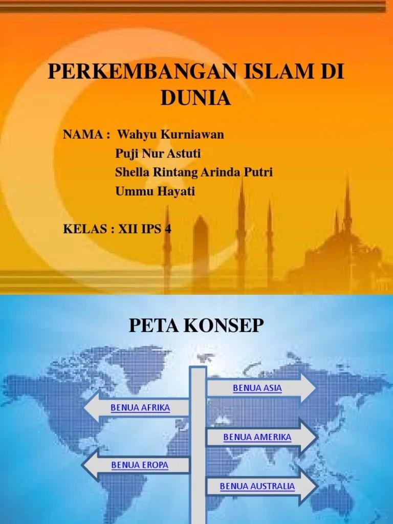 Sejarah Perkembangan Islam Di Eropa : sejarah, perkembangan, islam, eropa, PERKEMBANGAN, ISLAM, DUNIA, PPT_2.pptx