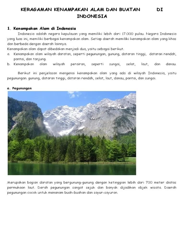 Kenampakan Alam Dan Buatan Di Benua Asia : kenampakan, buatan, benua, Contoh, Gambar, Kenampakan, Buatan, Arini