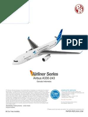 Pesawat Garuda Png : pesawat, garuda, A330-243, Garuda, Indonesia, Airlines