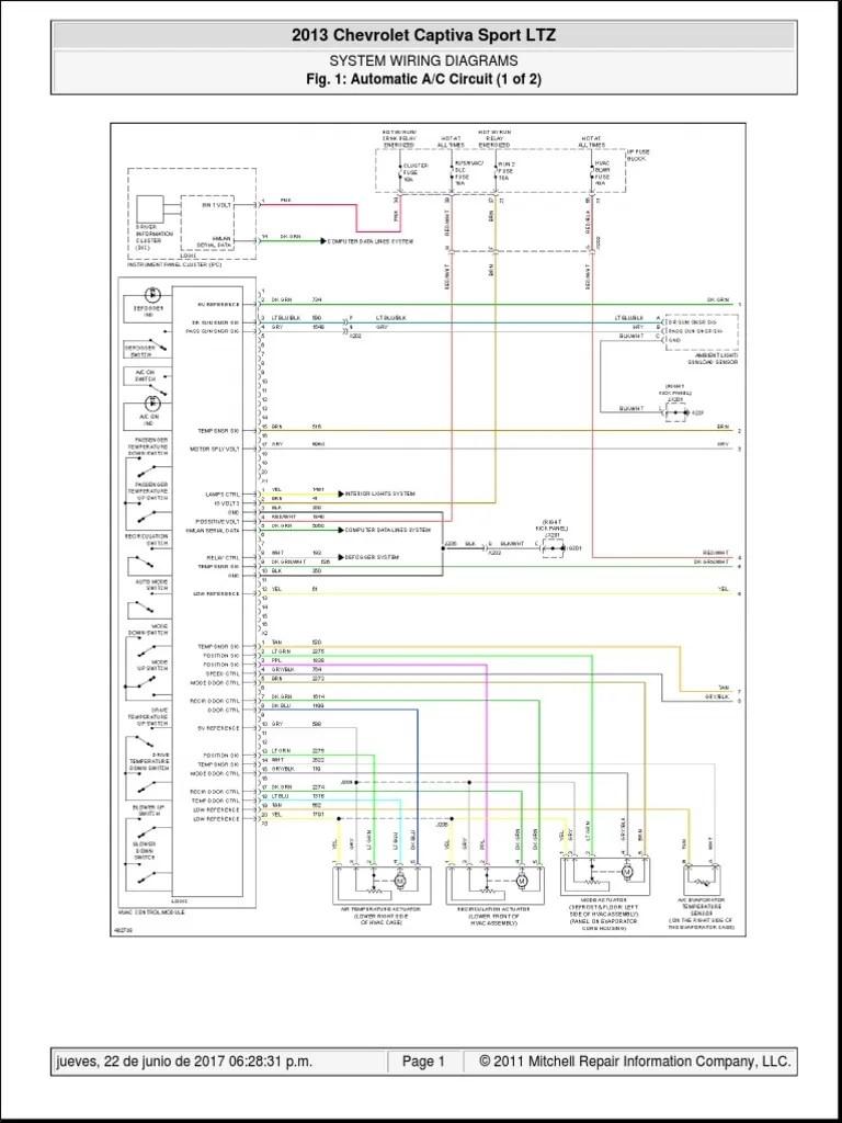 chevrolet captiva 2013 pdf cars of the united states wheeled vehicles [ 768 x 1024 Pixel ]