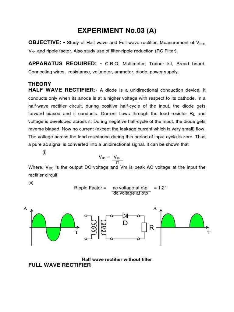 medium resolution of half wave bridge rectifier diagram
