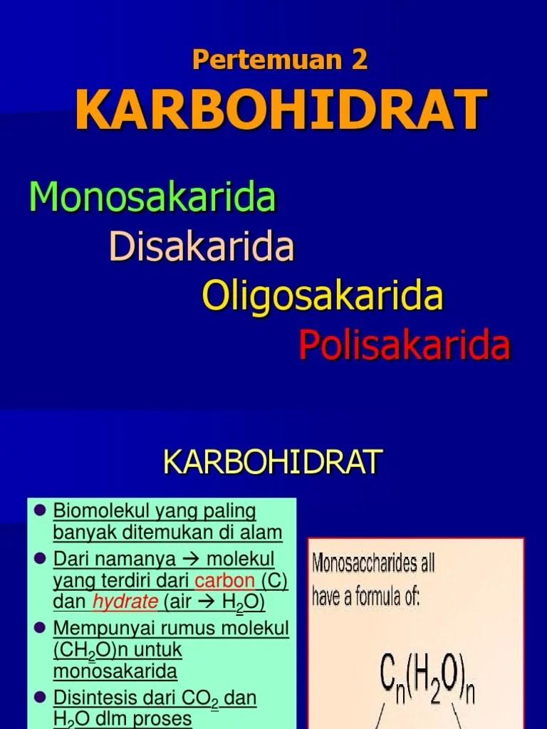 Monosakarida Disakarida Polisakarida : monosakarida, disakarida, polisakarida, Kimia, Organik, 120324232405, Phpapp01