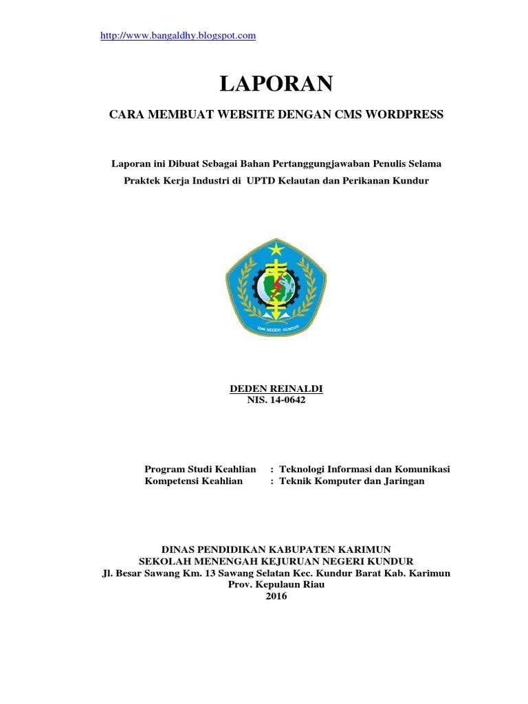 Contoh Laporan Pkl Tkj : contoh, laporan, Contoh-laporan-prakerin-tkj-membuat-website-161127080231.pdf