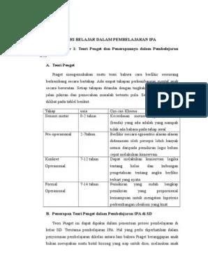Rangkuman Materi Dan Pembelajaran Ipa Sd Pdgk4202 : rangkuman, materi, pembelajaran, pdgk4202, Rangkuman, Materi, Pembelajaran, Pdgk4202, Modul, Tutorial.Lif.co.id