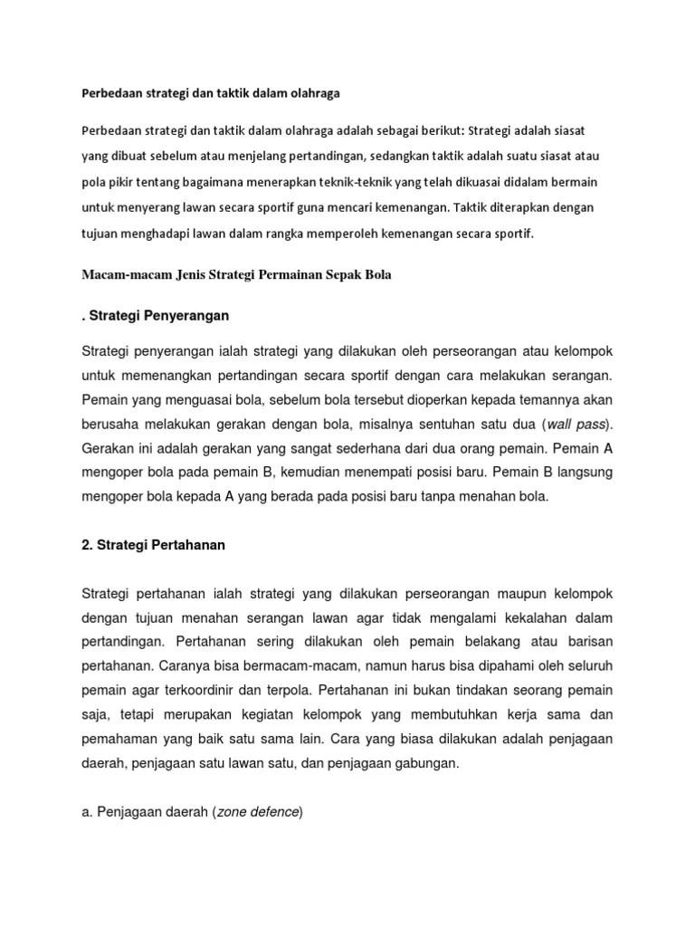 Pengertian Strategi Dalam Sepak Bola : pengertian, strategi, dalam, sepak, Perbedaan, Strategi, Taktik, Dalam, Olahraga