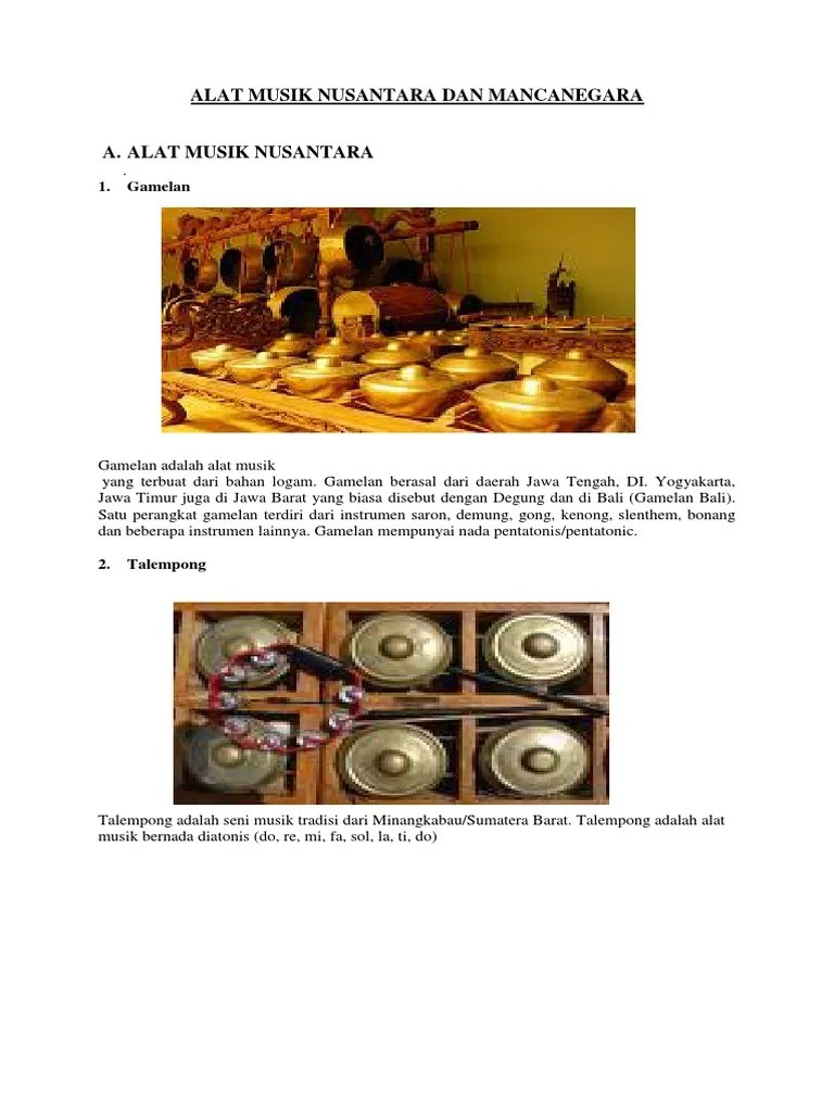 Talempong, Alat Musik Tradisional Khas Minangkabau