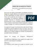 Ouvrir Une Agence De Voyage : ouvrir, agence, voyage, OUVRIR, AGENCE, VOYAGES, France.doc, Agence, Voyage, Tourisme